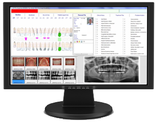 ADSTRA Dental Software Screen